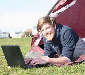 W-LAN Campingplatz