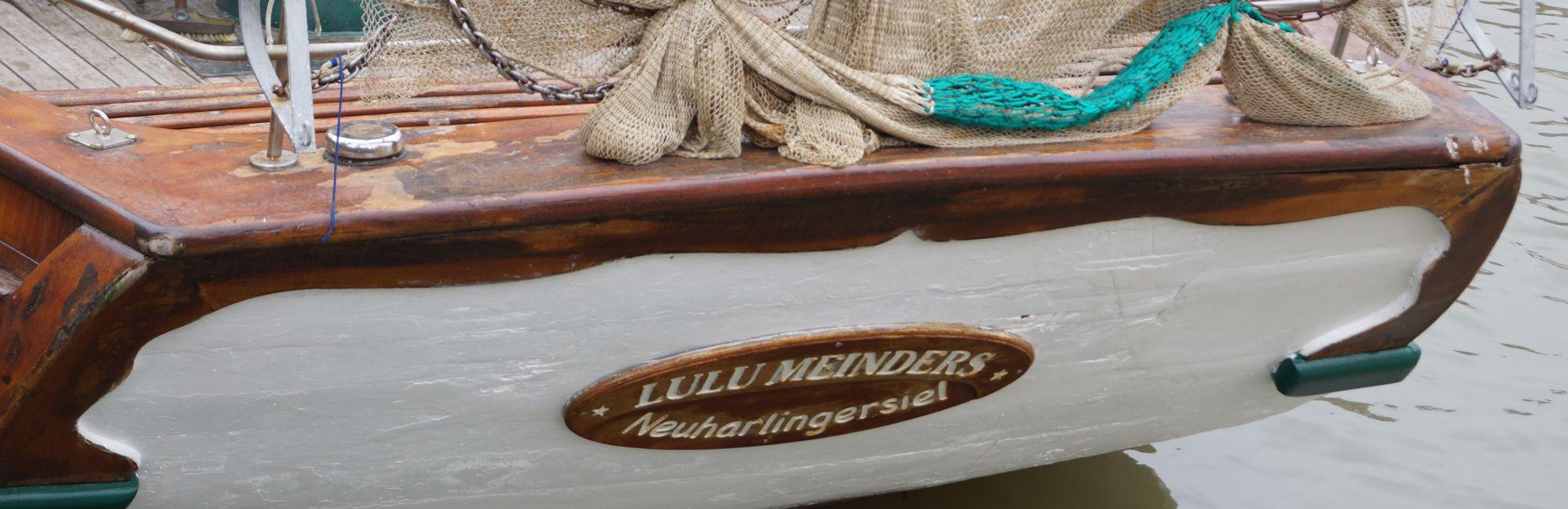 Lulu Meinders Spiegelheck - Hafenfreunde Neuharlingersiel