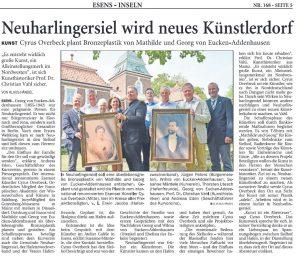 Artikel Anzeiger für Harlingerland - 21. Juli 2018 - Druckausgabe - Seite 5