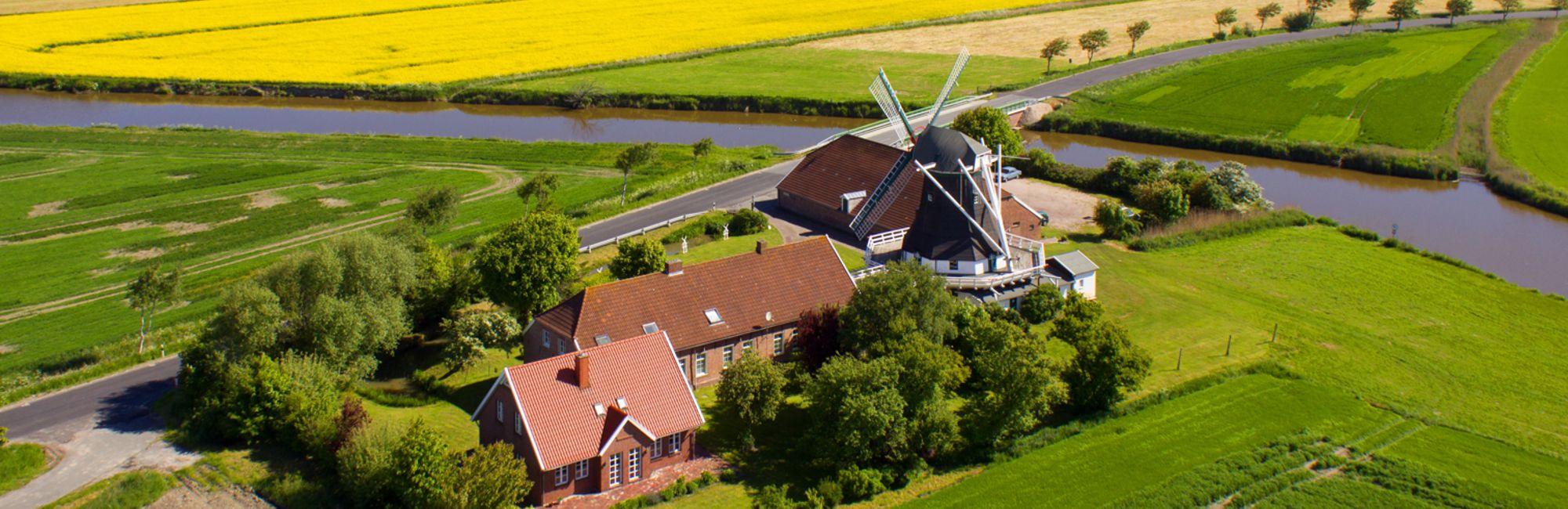 Natur in und um Neuharligersiel in Ostfriesland