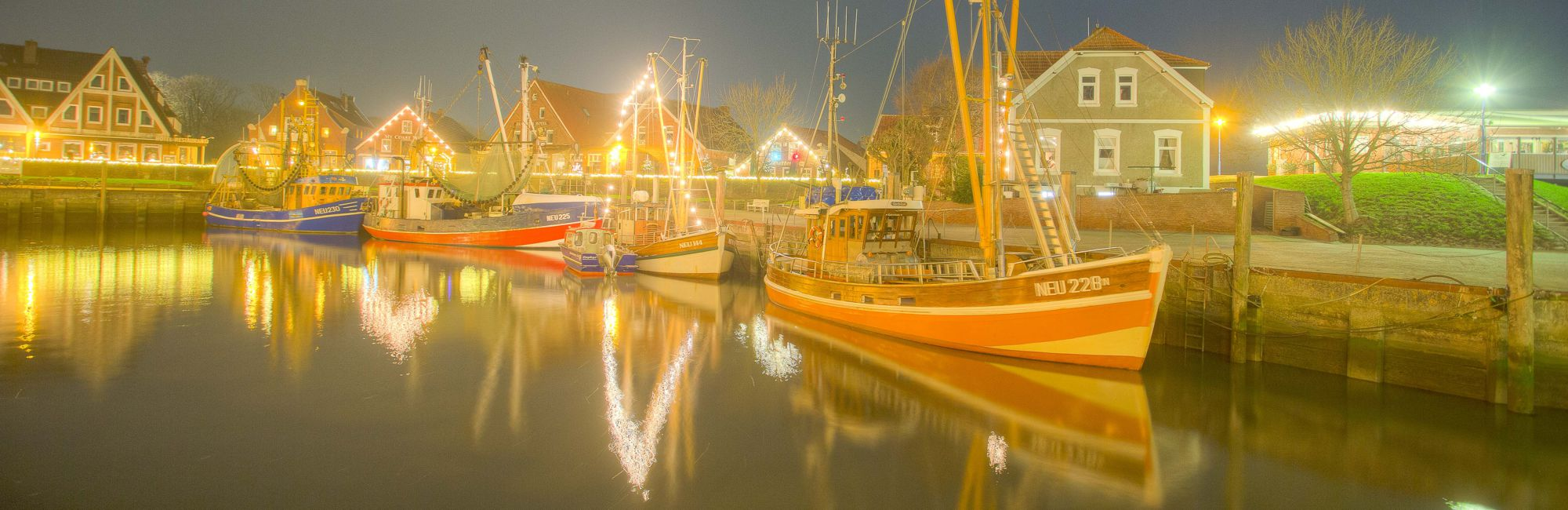 Silvester an der Nordsee feiern in Neuharlingersiel
