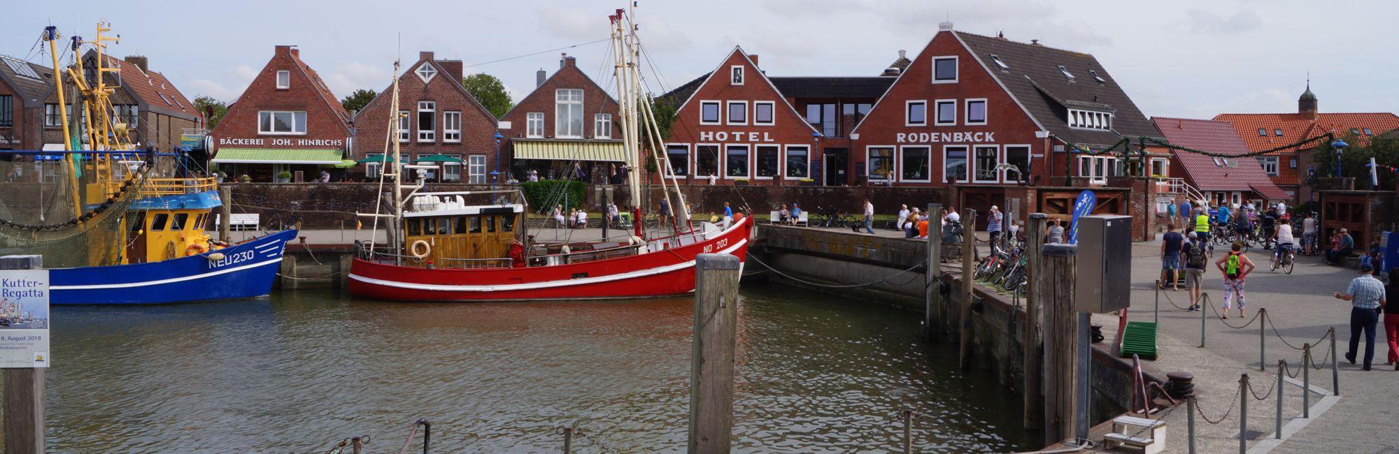 Webcam 2 - Östlicher Teil vom Kutterhafen in Neuharlingersiel