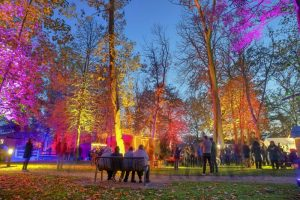 Lichterfest im Sielhof-Park Neuharlingersiel
