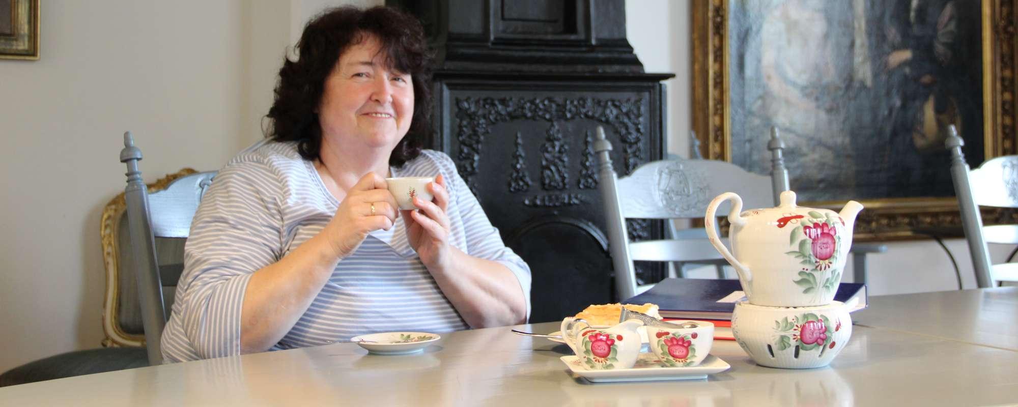 Teestunde mit Gisela im Haus des Gastes im Sielhof