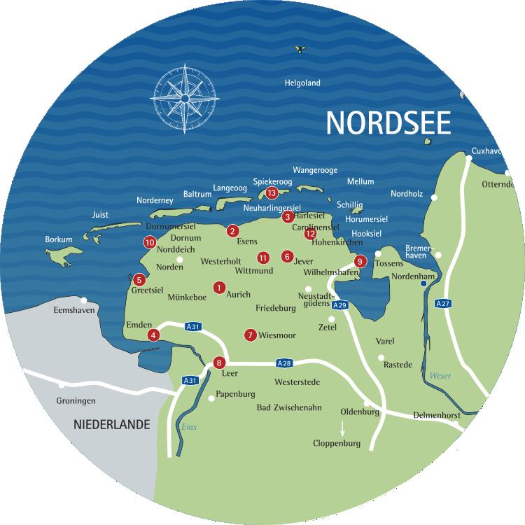 Ausflugstipps für den Urlaub an der Nordsee