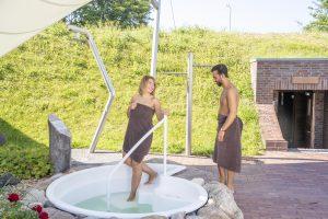 """Der Saunabereich im BadeWerk erhielt vom Deutschen Sauna-Bund e.V. die Bestnote und hat sich das Qualitätssiegel """"Sauna Premium"""" verdient."""