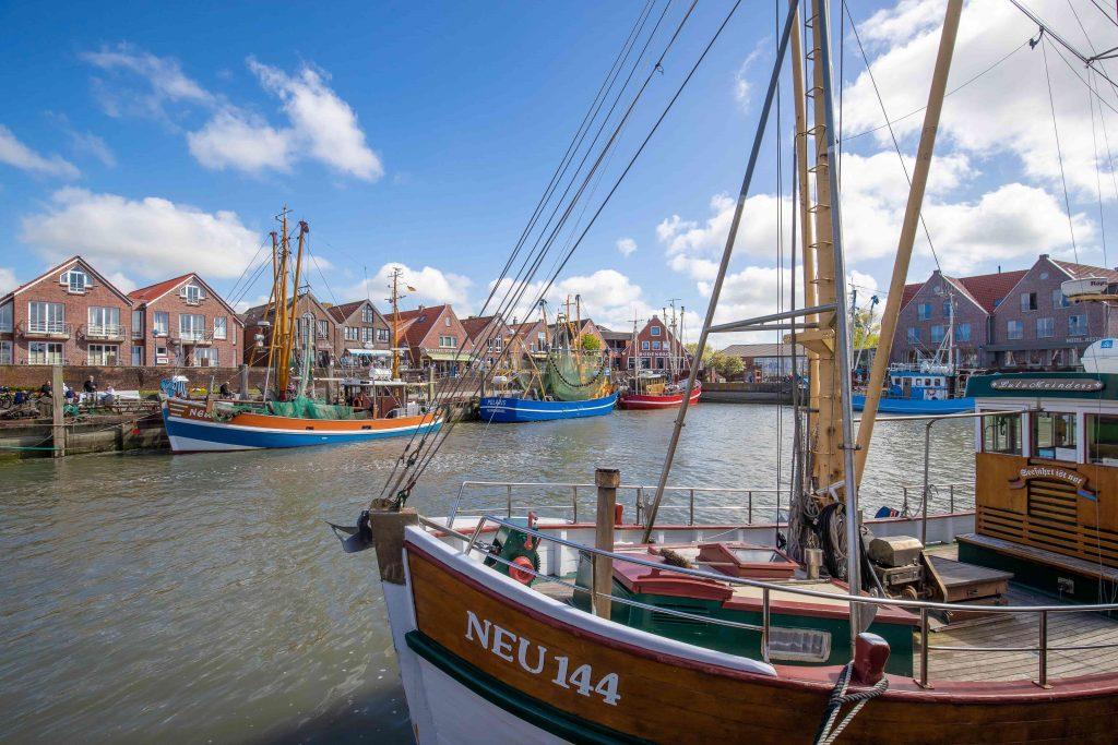 Ansicht vom Hafen