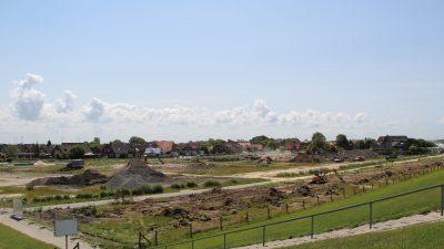 Nordsee-Campingplatz Umgestaltung