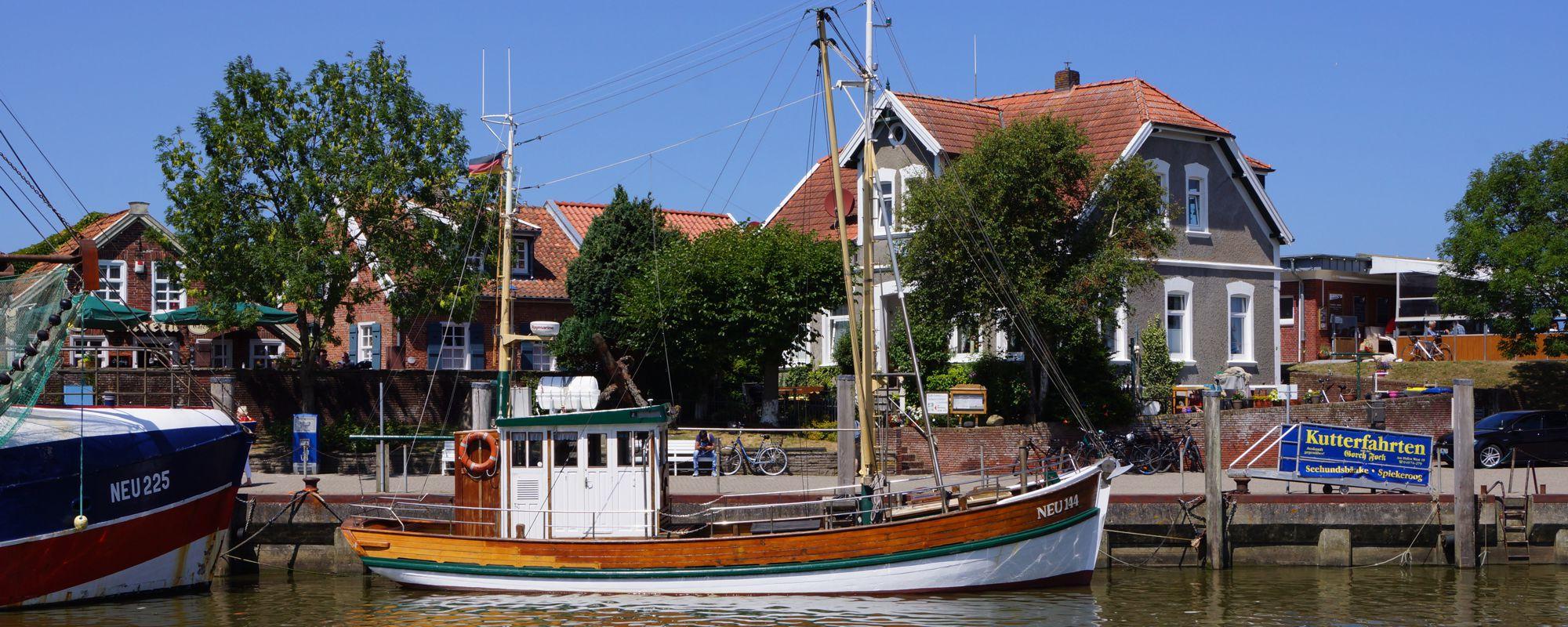Ehemaliger Krabbenkutter und Traditionsschiff Lulu Meinders