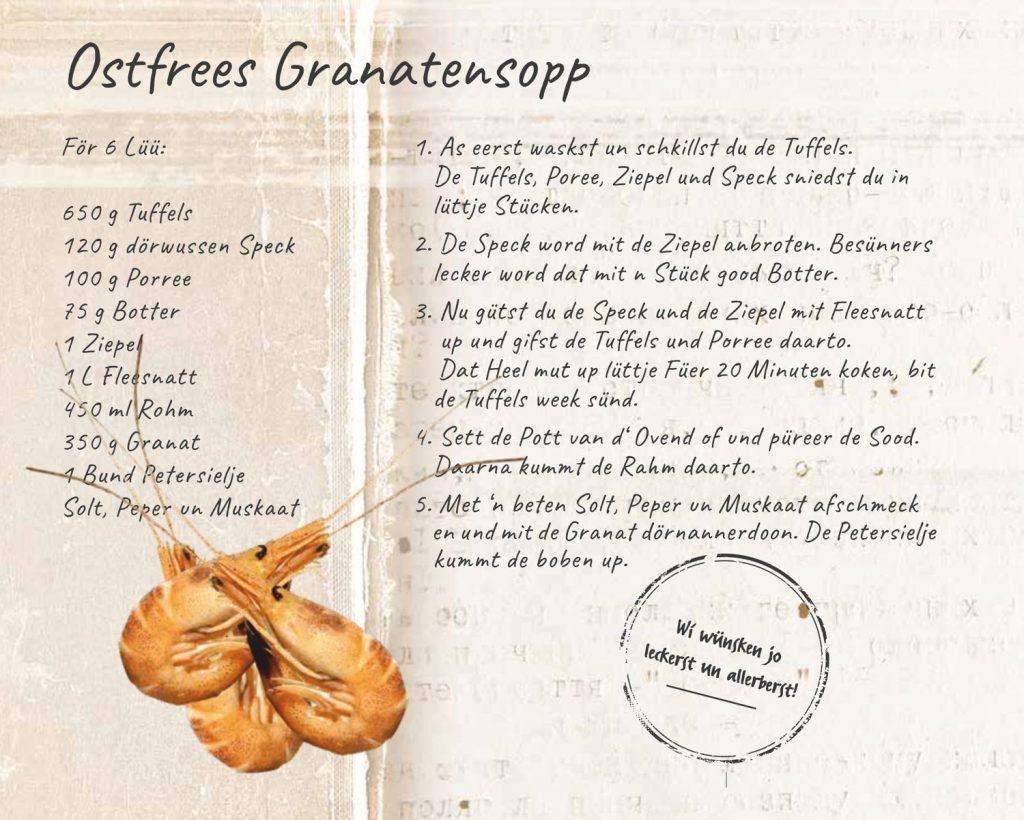 Rezept Ostfriesische Krabbensuppe