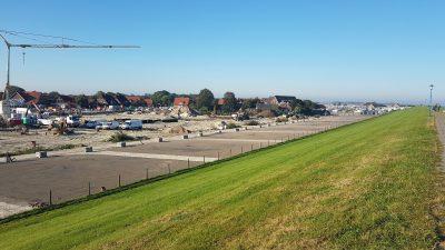 Nordsee-Camping Neuharlingersiel - Umgestaltung Ostgelände - Deichstellplätze