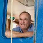 Uwe Abken - Kapitän des Krabbenkutters Polaris in Neuharlingersiel