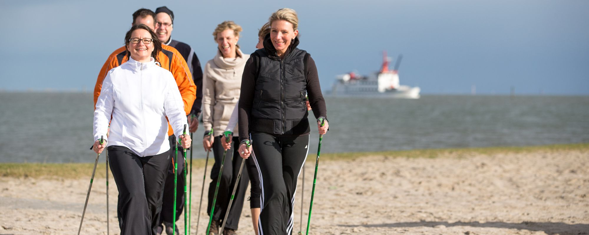 Fitness Nordsee Nordic Walking