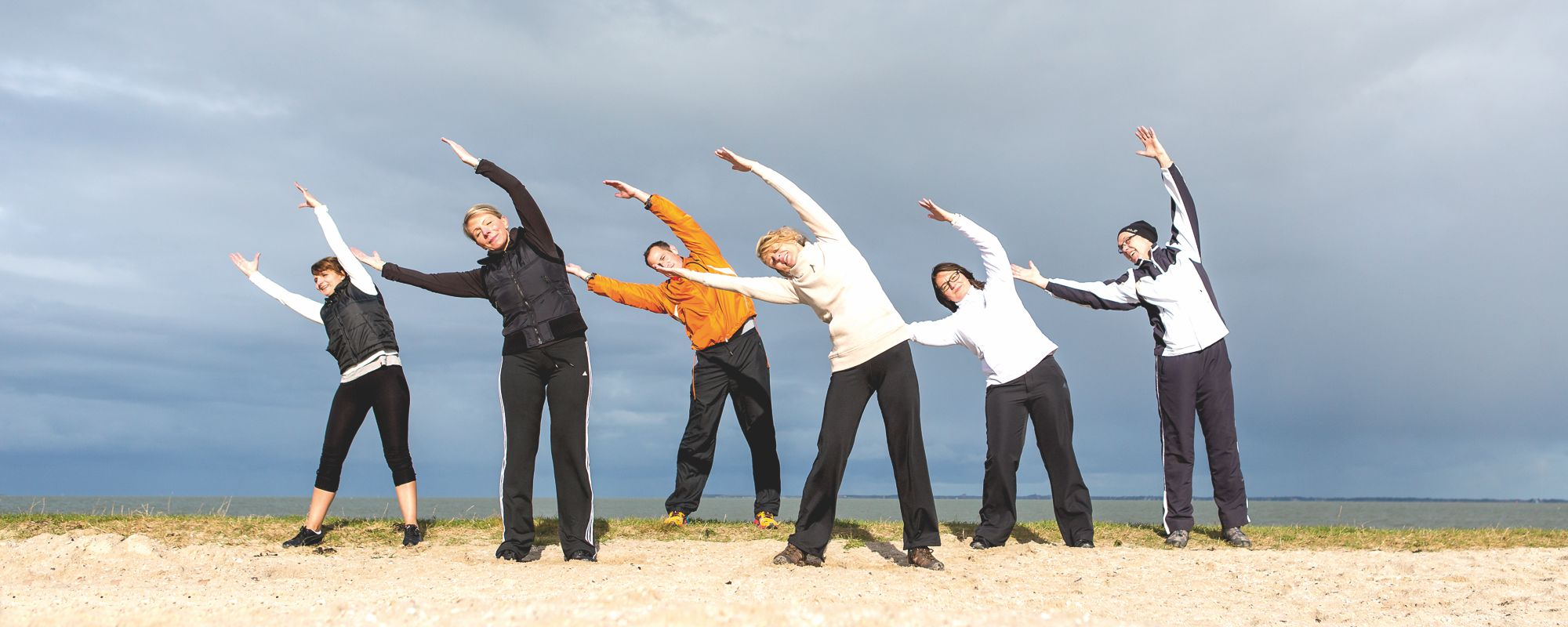 Fitness Nordsee Strand