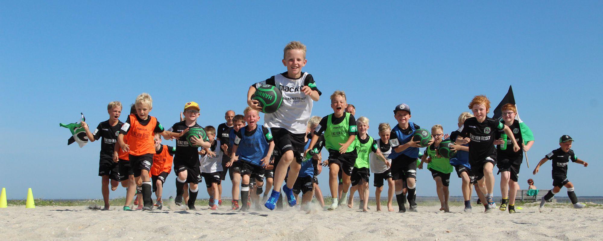 Hannover 96 Fußballschule in Neuharlingersiel