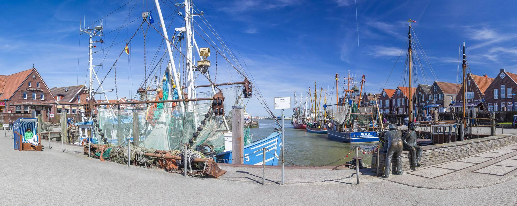 Lieblingsplätze Neuharlingersiel - Kutterhafen