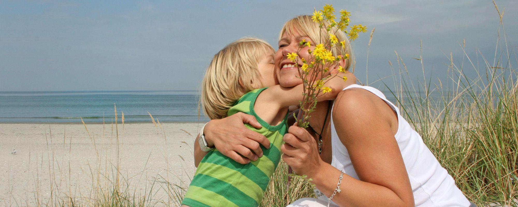 Muttertag an der Nordsee