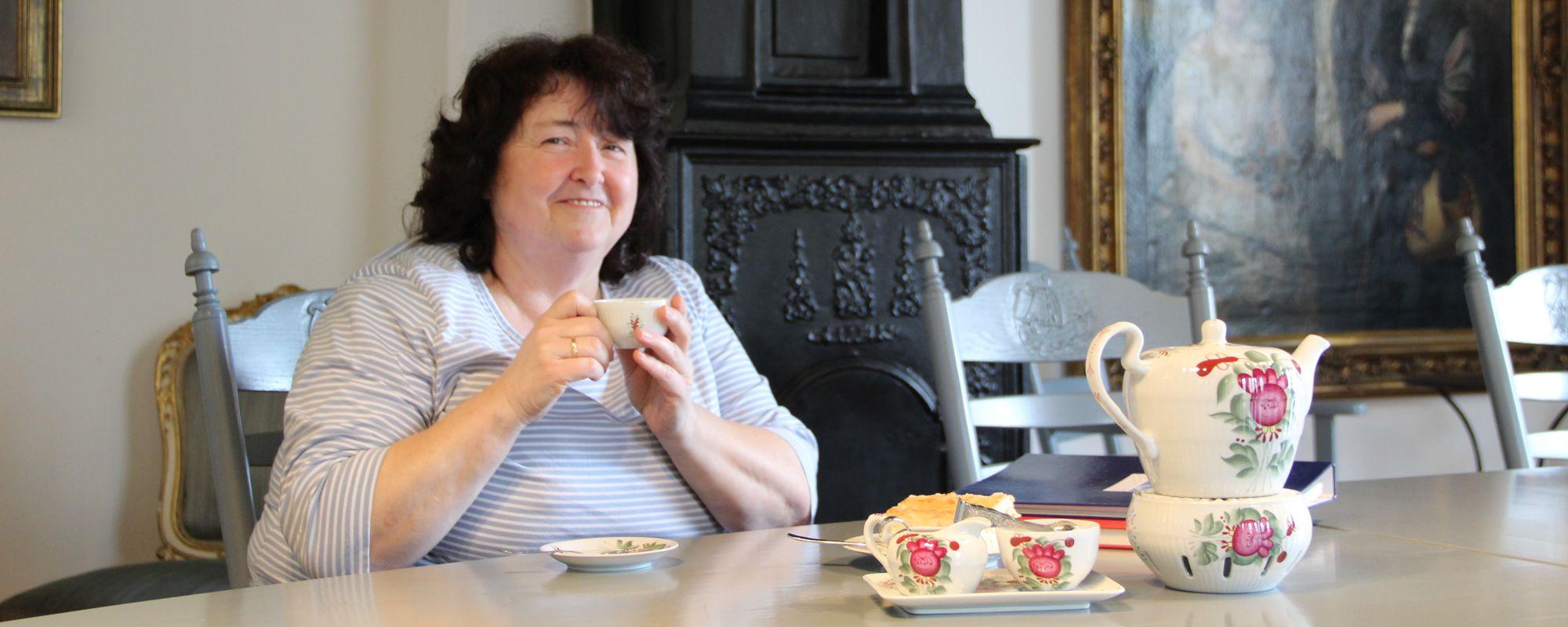 Teestunde mit Gisela im Haus des Gastes