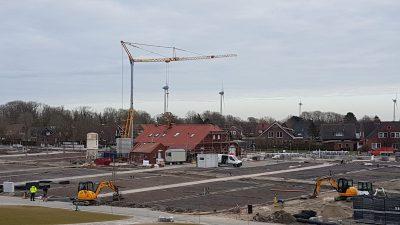 Übersicht Umbau Nordsee-Campingplatz Ostbereich