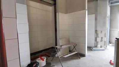 Duschbereich Gulfhof