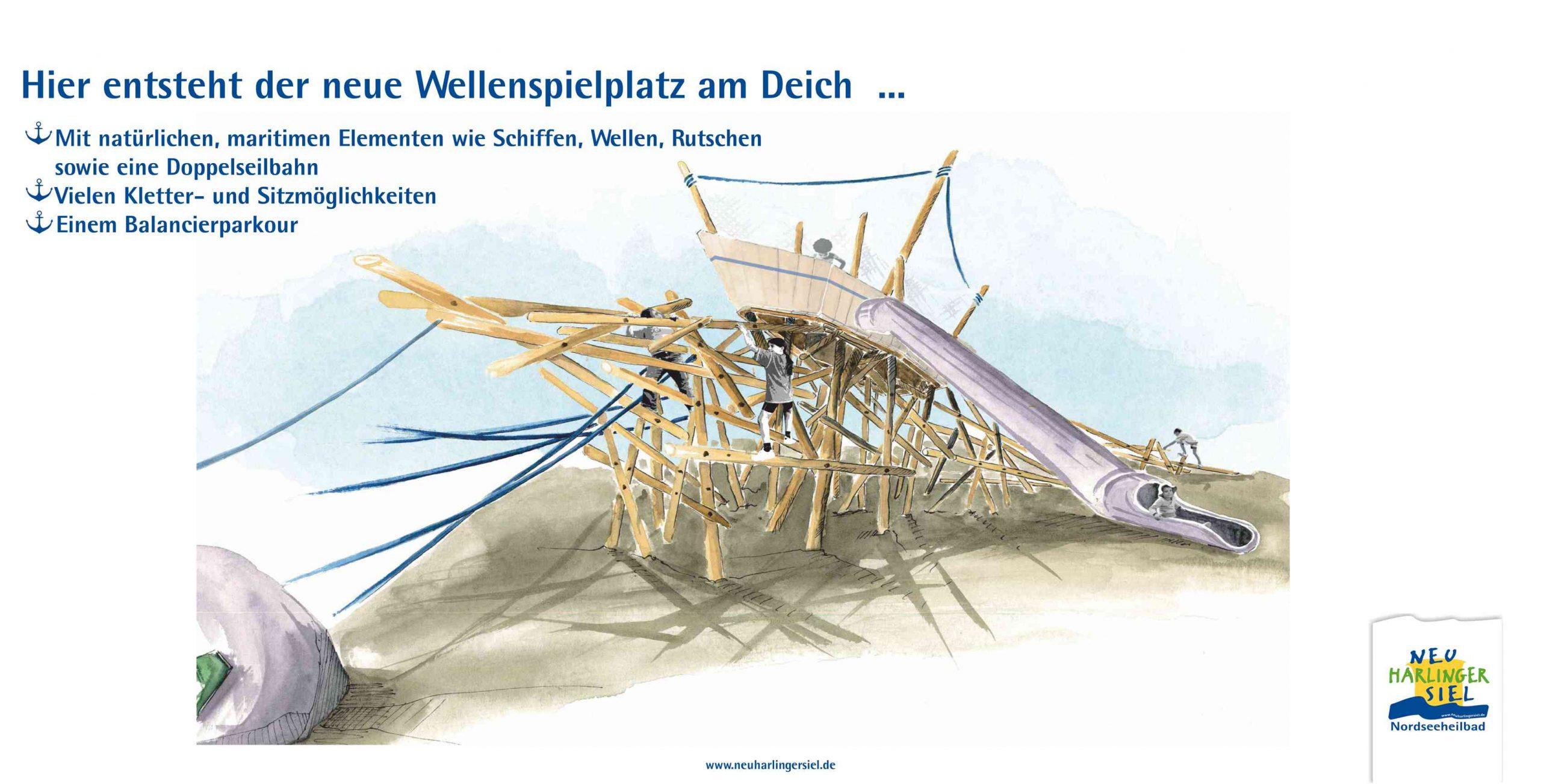 Wellenspielplatz am Deich(2)