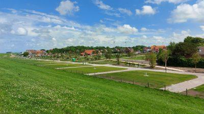 Premium Bereich Nordsee-Campingplatz Neuharlingersiel