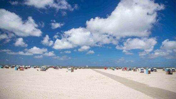 Strand von Neuharlingersiel