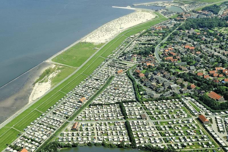 Camping in Ostfriesland an der Nordsee