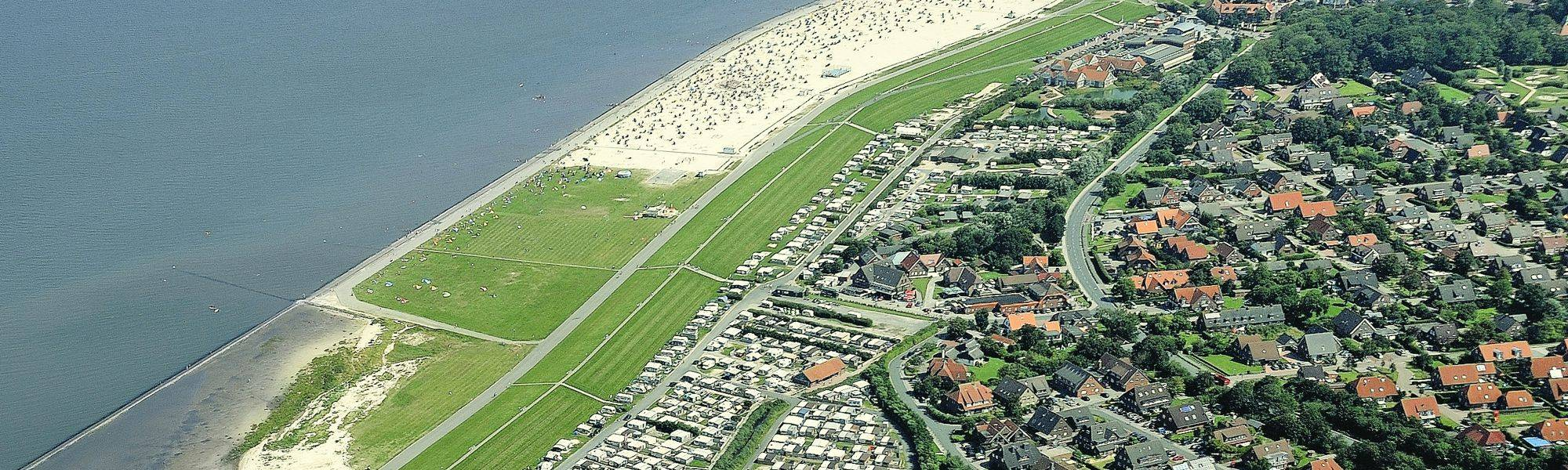 Nordsee Camping in Neuharlingersiel am Deich
